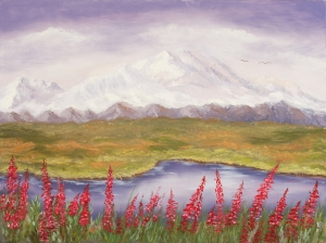 Mt. McKinley (Denali) in the Summer